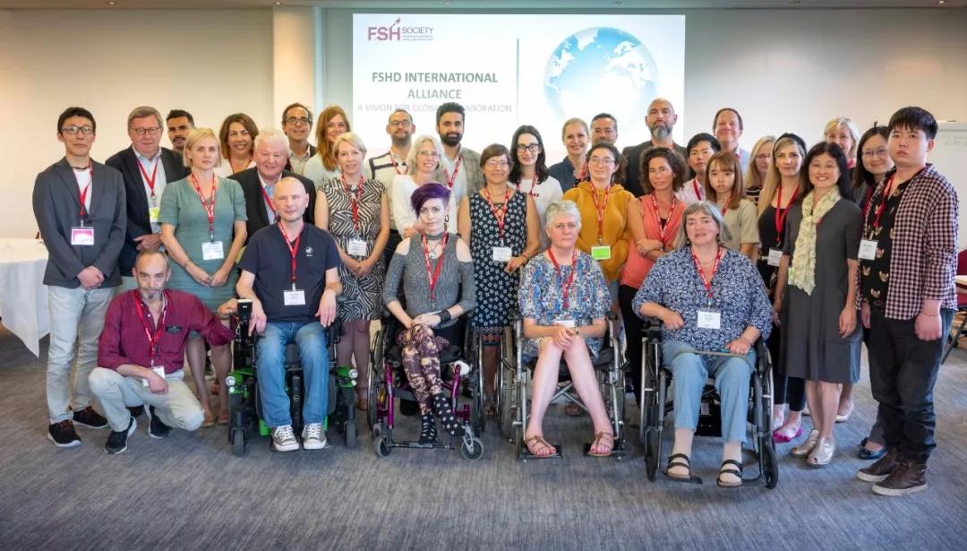 首届FSHD国际患者倡导组织峰会,法国马赛,2019年6月18日